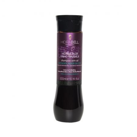 Shampoo Hidra Color Vinho Marsala 300ml - Hidrabell