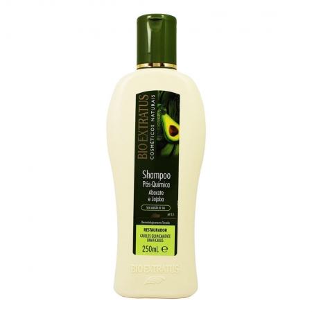 Shampoo Pós Química Abacate e Jojoba 250ml - Bio Extratus