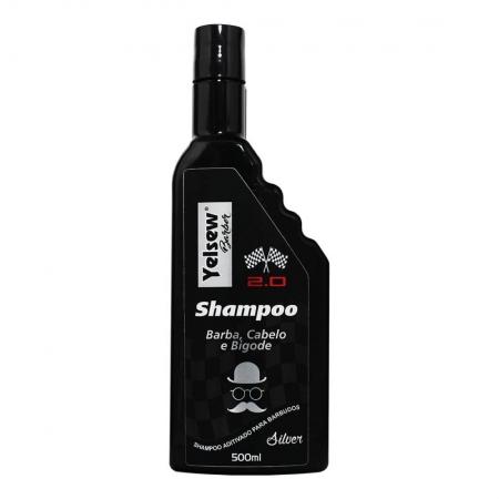 Shampoo Silver Barber 2.0 500ml - Yelsew