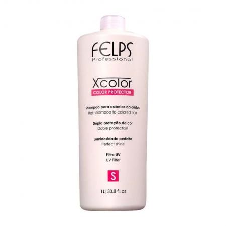 Shampoo Xcolor Protector Cabelos Coloridos 1L - Felps