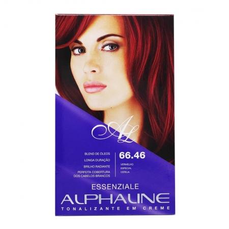 Tonalizante em Creme Essenziale Vermelho Especial Cereja 66.46 - Alphaline
