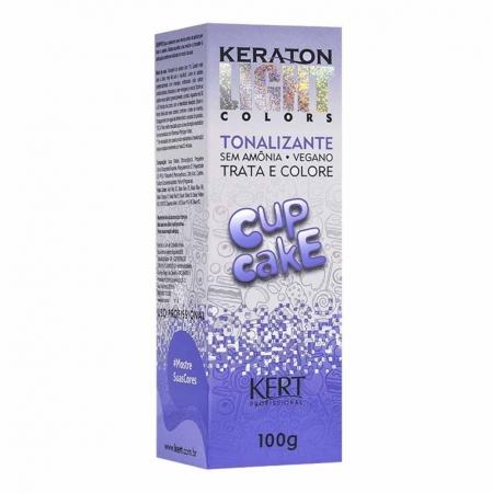 Tonalizante Keraton Light Colors Cup Cake 100g - Kert