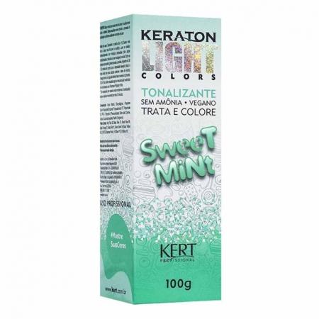Tonalizante Keraton Light Colors Sweet Mint 100g - Kert