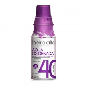 Água Oxigenada 40 Volume 450ml - Beira Alta