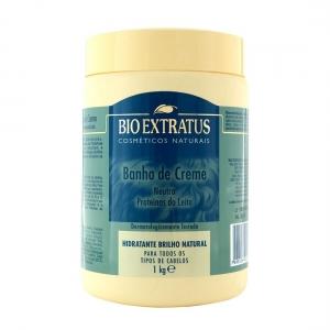 Banho de Creme Neutro Proteínas do Leite 1Kg - Bio Extratus