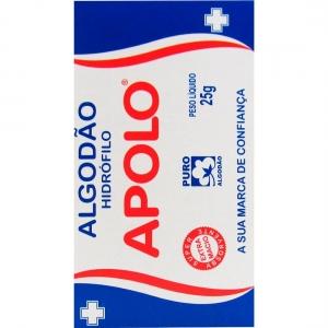 Caixa de Algodão 25g - Apolo