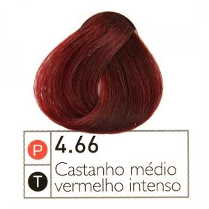 Coloração Instantly Collor Castanho Médio Vermelho  4.66 - Alpha Line