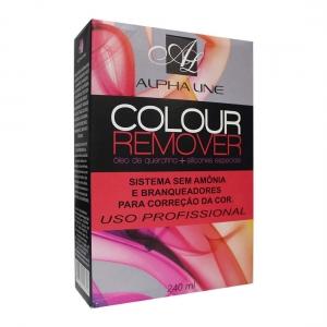 Colour Remover Removedor de Coloração Óleo de Queratina e Silicones Especiais 240ml - Alpha Line