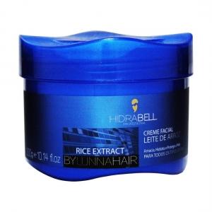 Creme Facial Rice Extract Leite de Arroz 250g - Hidrabell