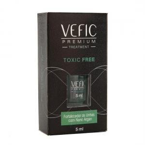 Esmalte Treatment Fortalecedor de Unhas com Nano Argan Toxic Free 5 ml - Vefic Premium