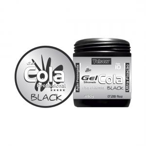Gel Cola Black Siliconado Ultra Fixação 490g - Yelsew