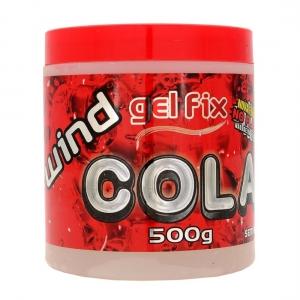 Gel Cola sem Álcool 500g - Wind Fix