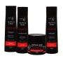 Kit de Shampoo, Condicionador, Finalizador e Máscara de Alto Impacto Cicatrização Capilar 250ml - Al