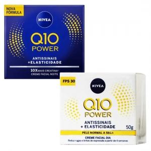 Kit Q10 Power Antissinais Dia e Noite 50g - Nivea