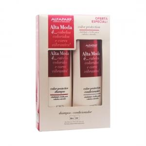 Kit Shampoo + Condicionador Color Protection Alta Moda - Alfaparf