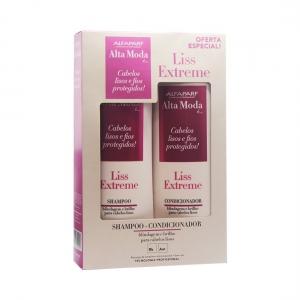 Kit Shampoo + Condicionador Liss Exterme Alta Moda - Alfaparf