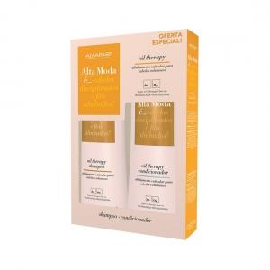 Kit Shampoo + Condicionador Oil Therapy Alta Moda - Alfaparf