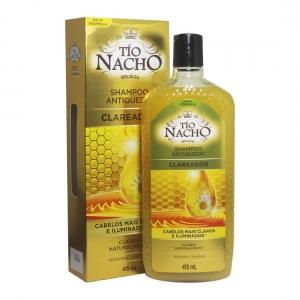 Shampoo Antiqueda Clareador 415ml - Tío Nacho