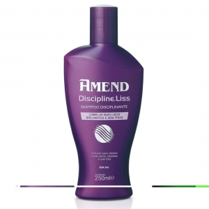 Shampoo Disciplinante Discipline Liss 250ml - Amend