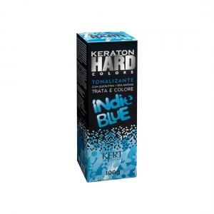 Tonalizante sem Amônia Keraton Hard Colors Indie Blue 100g - Kert