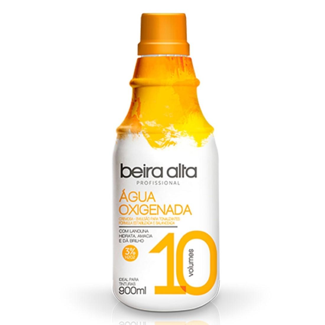 Agua Oxigenada 10 Volumes 900 ml - Beira Alta