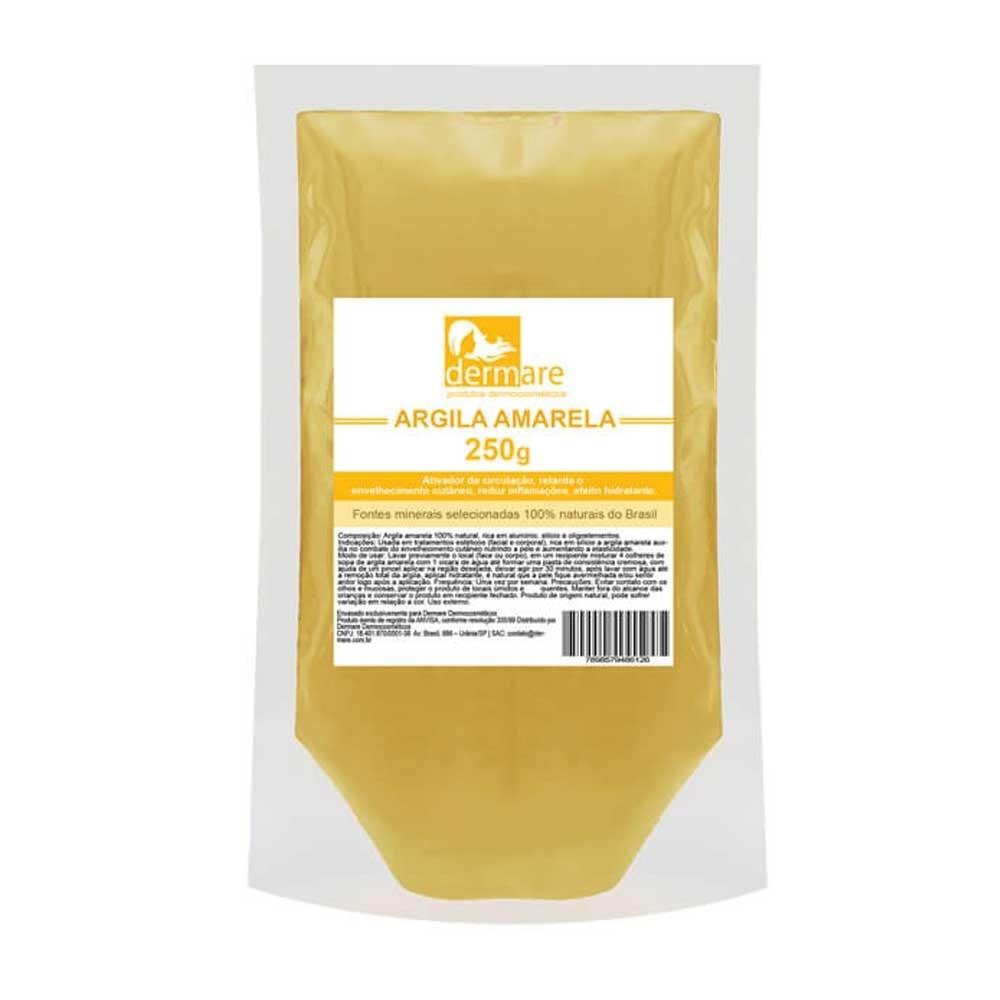 Argila Amarela 250g - Dermare