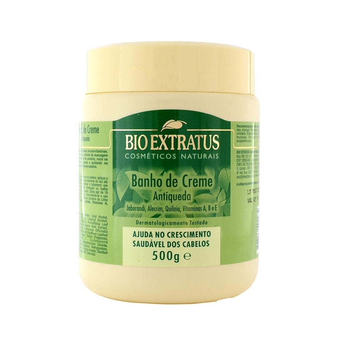 Banho de Creme Antiqueda 500g - Bio Extratus