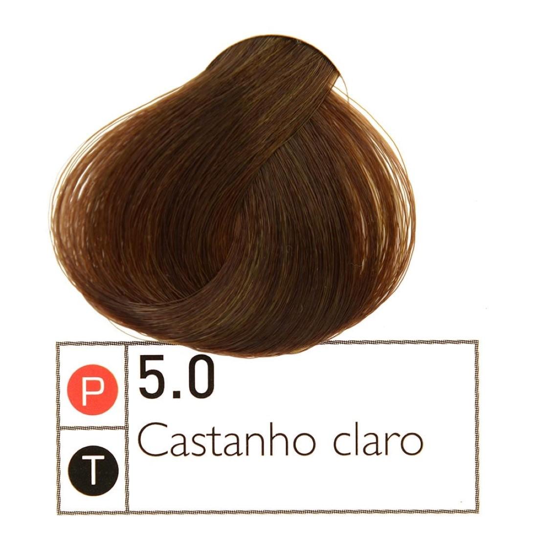 Coloração Instantly Collor Castanho Claro  5.0- Alpha Line
