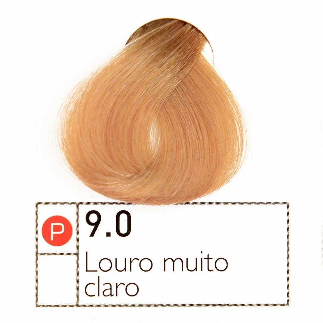 Coloração Instantly Collor Louro Muito Claro 9.0 - Alpha Line