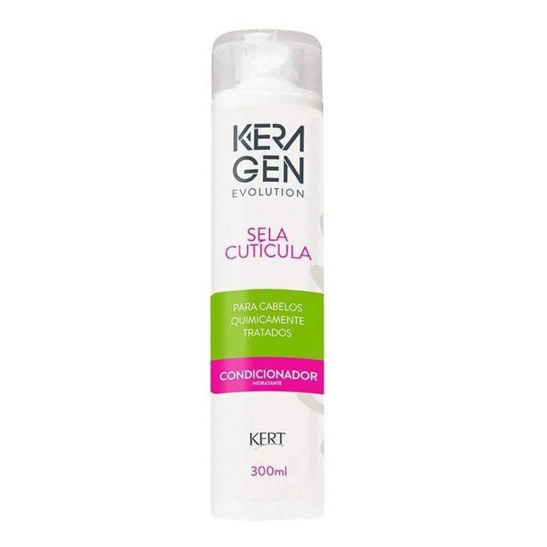 Condicionador Keragen Sela Cutícula 300g - Kert