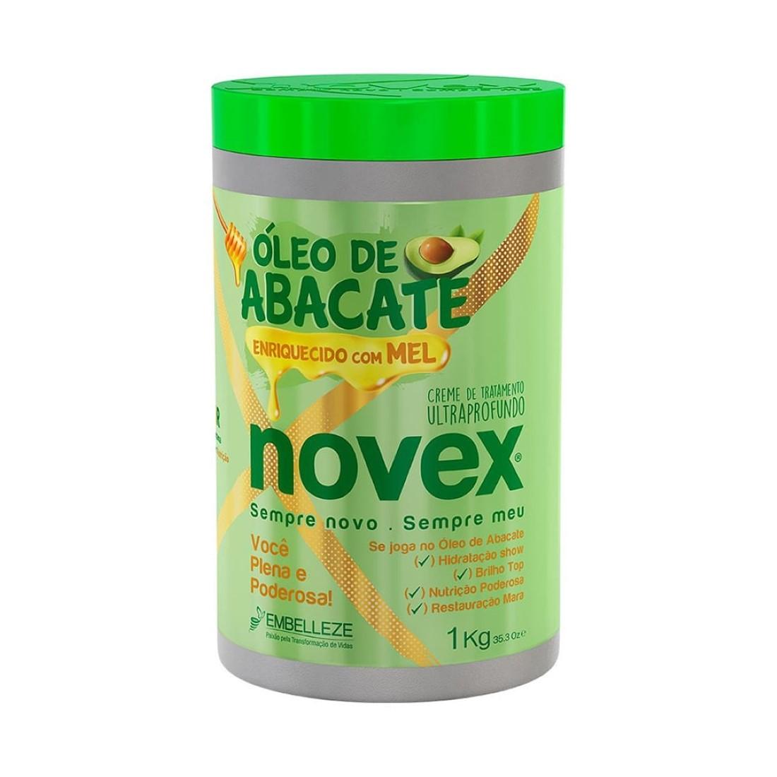 Creme de Tratamento Ultraprofundo Novex Óleo de Abacate 1kg - Embelleze