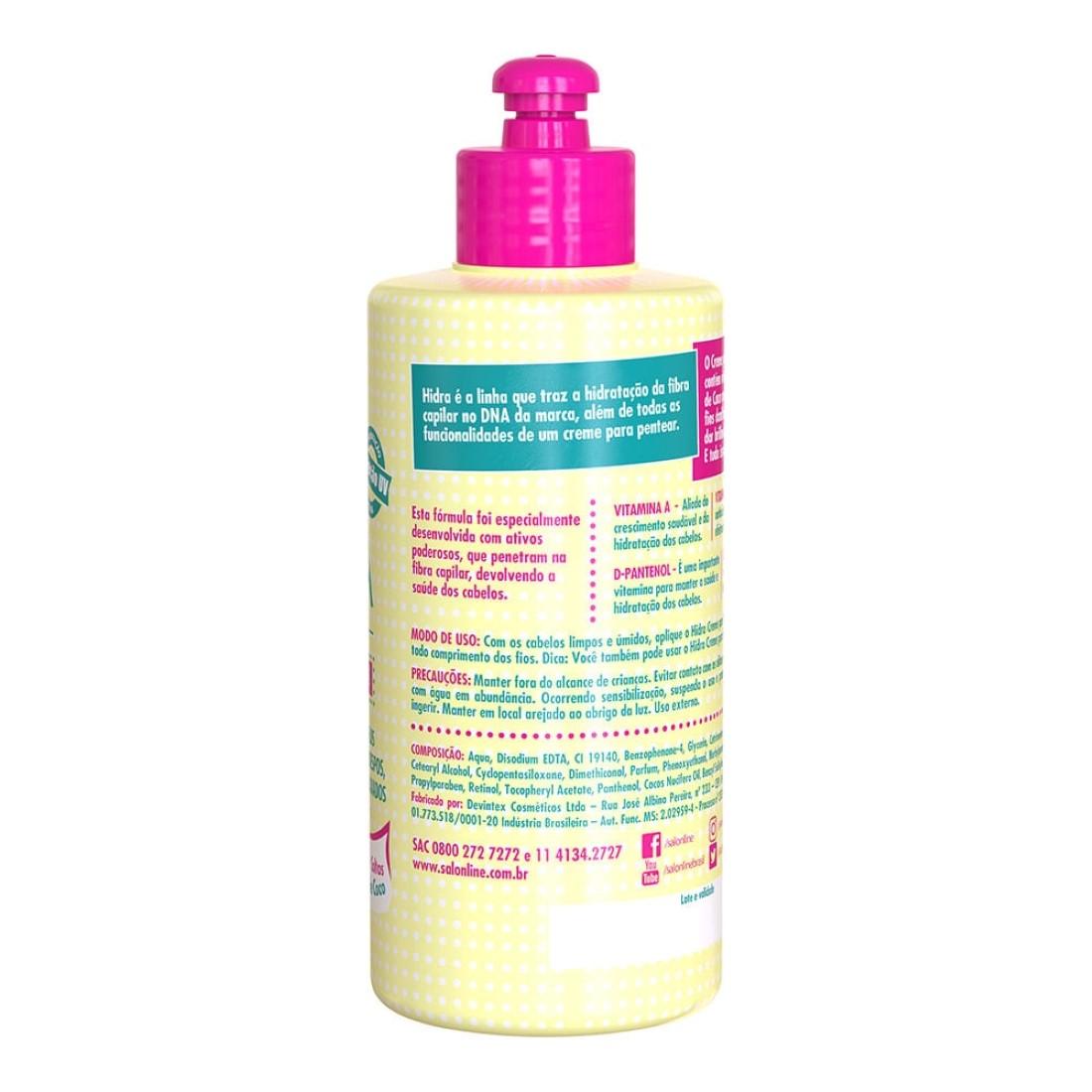 Creme Para Pentear Hidra 300 ml - Salon Line