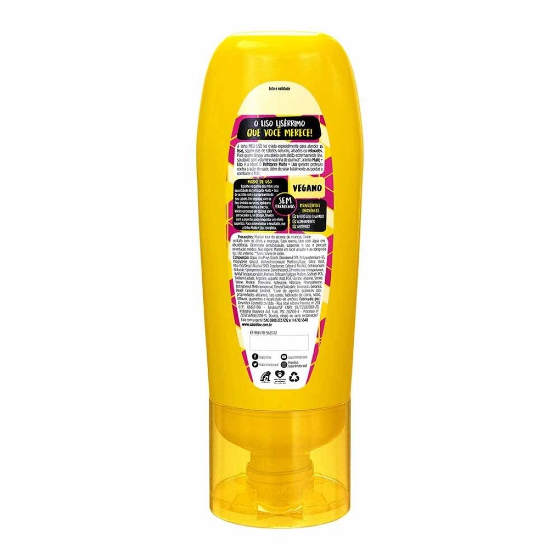 Defrizante Selante Térmico Meu Liso #Muito+Liso Amido de Milho 200ml - Salon Line