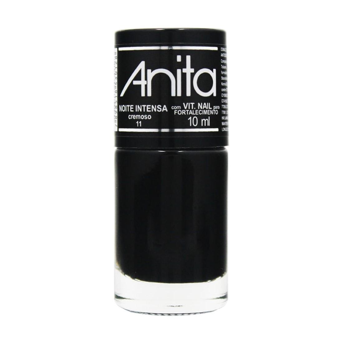 Esmalte Cremoso Noite Intensa 10ml - Anita
