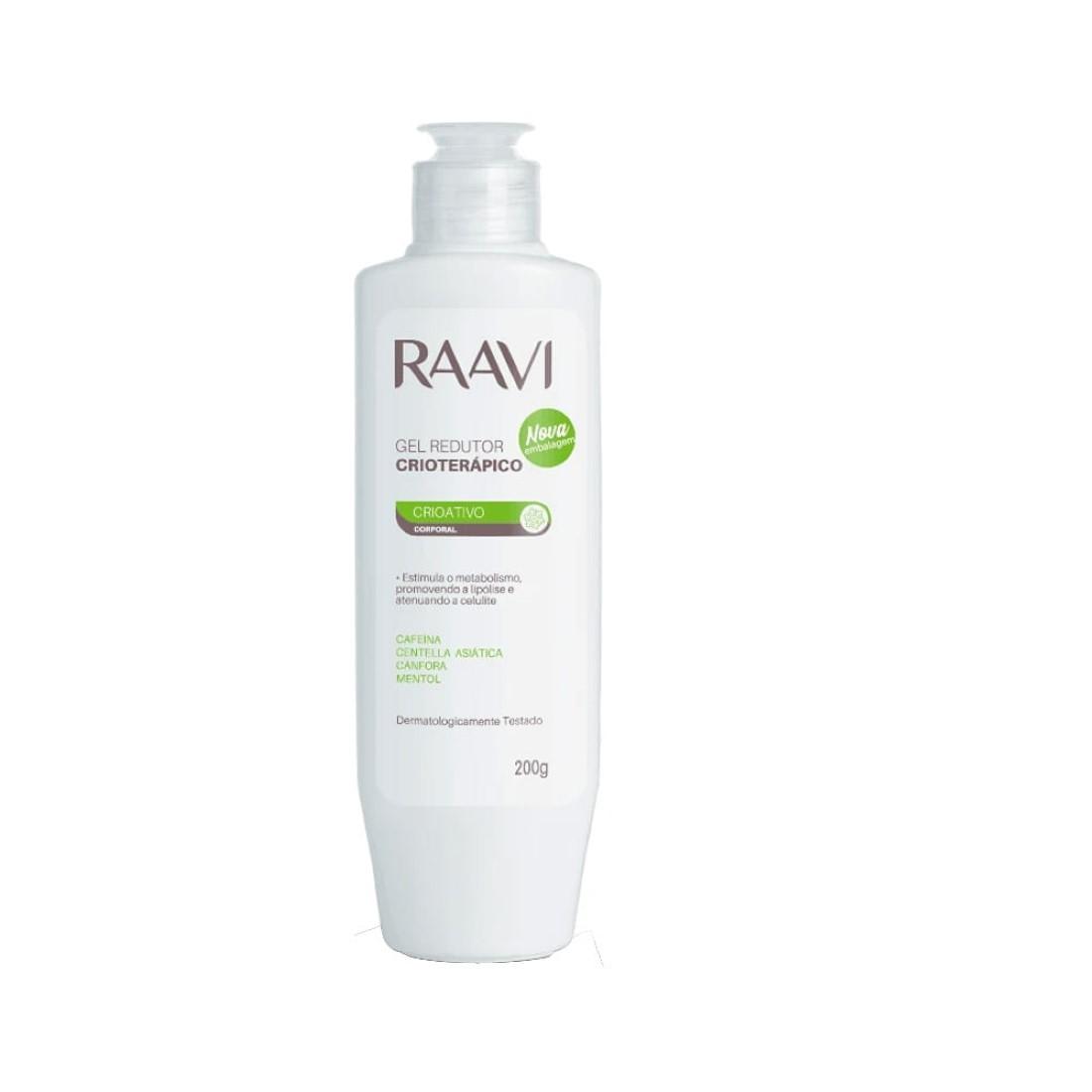 Gel Redutor Crioterápico 200g - Raavi