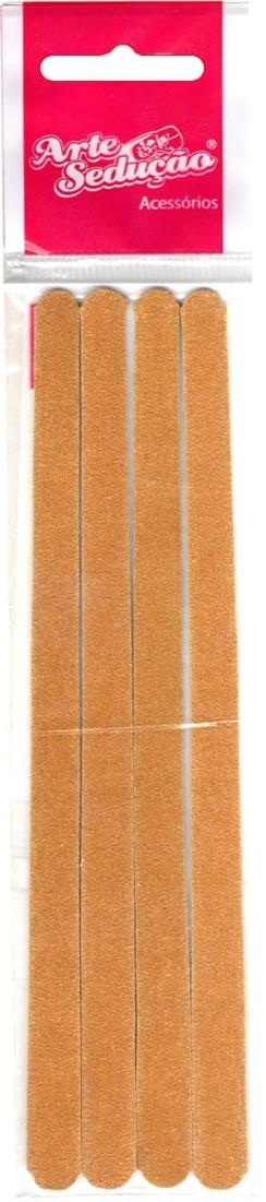 Lixa Parda 16cm Pct 4 unidades - Arte Sedução