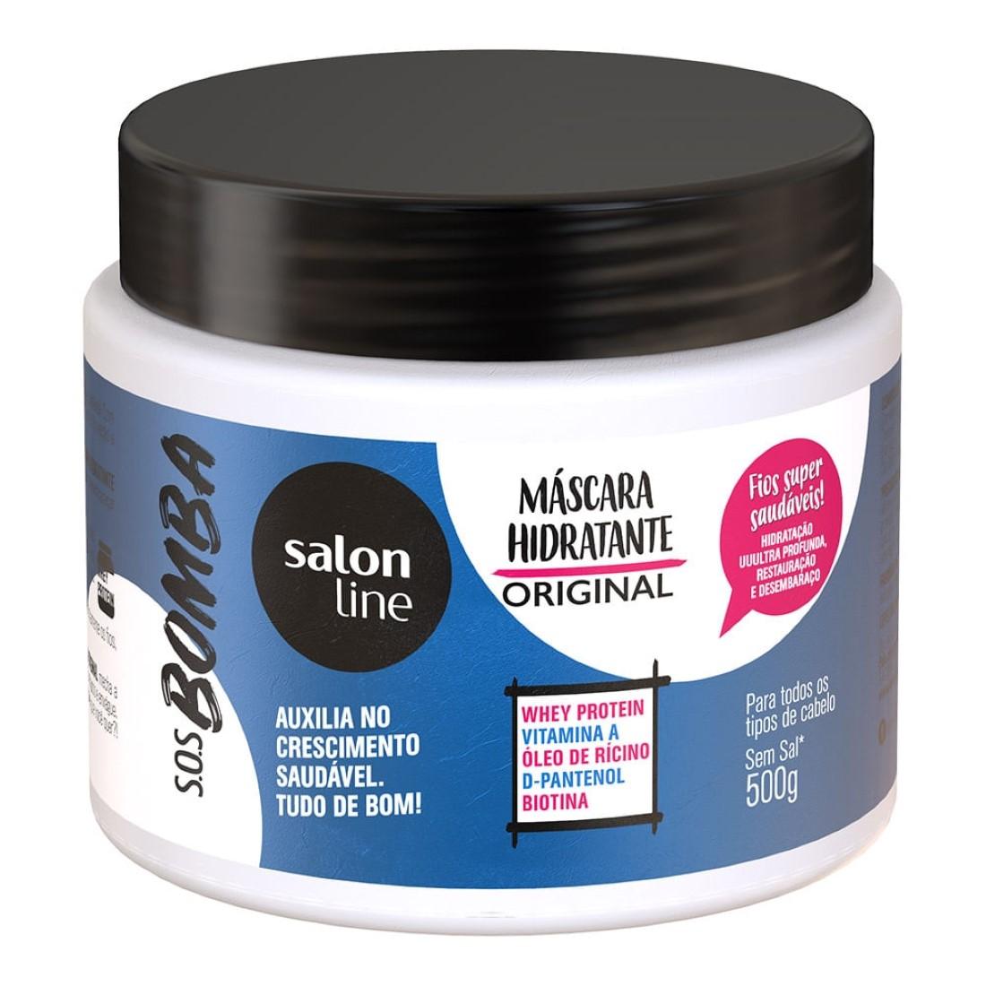 Máscara S.O.S Bomba de Vitaminas 500g - Salon Line