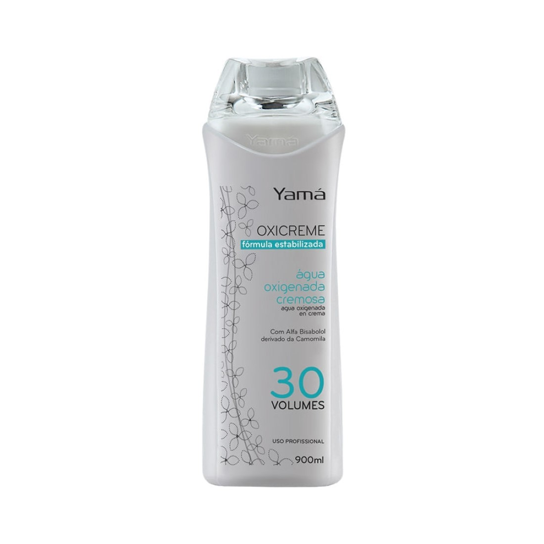 Oxicreme Água Oxigenada Cremosa 30 Volumes 900ml - Yamá
