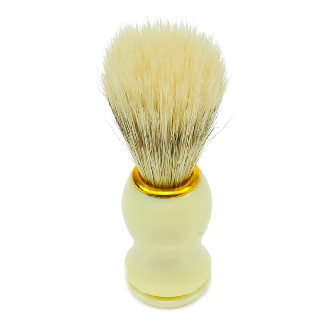 Pincel com Pelo Natural para Barba Ref. 5923w - Santa Clara