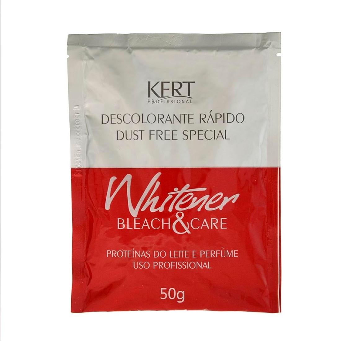 Pó Descolorante Whitener Bleach & Care 50g - Kert