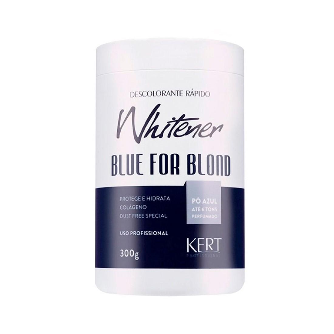 Pó Descolorante Whitener Blue for Blond 300g - Kert