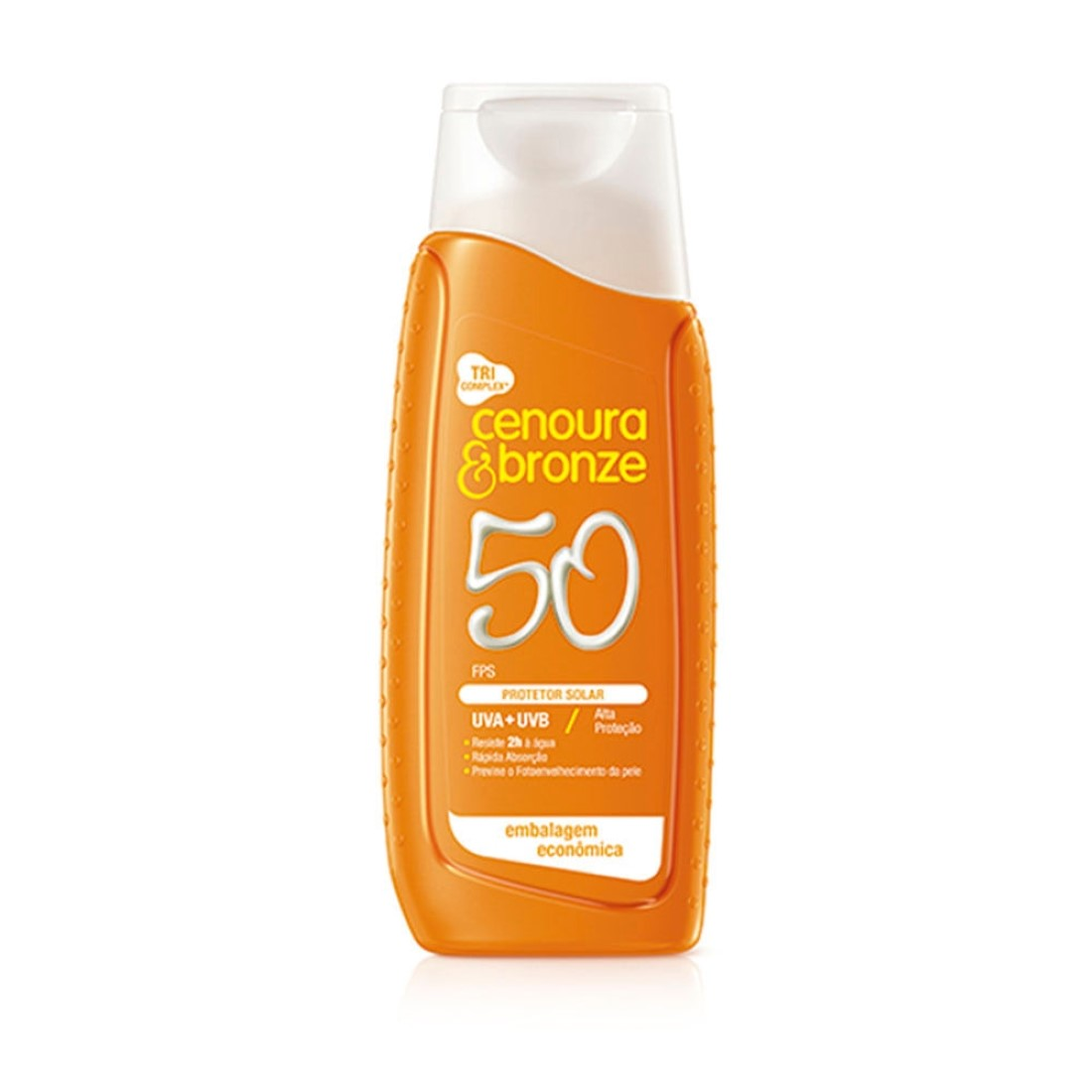 Protetor Solar FPS 50 200ml - Cenoura & Bronze