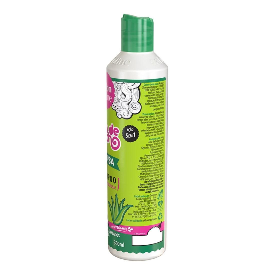 Shampoo Babosa Tratamento Pra Divar #TodeCacho 300ml - Salon Line