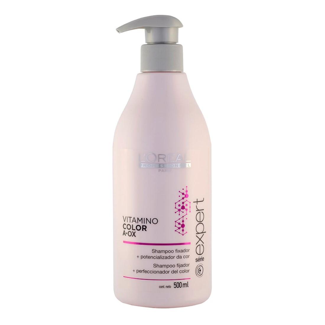 Shampoo Fixador + Potencializador da Cor Vitamino Color A?OX 500ml - L'Oréal Professionnel