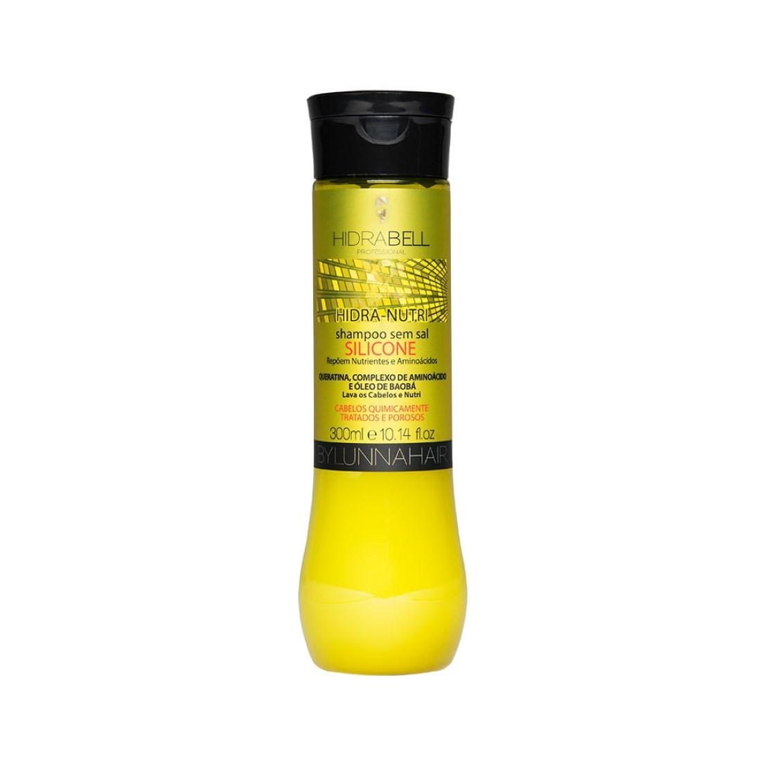 Shampoo Hidra Nutri Silicone 350ml - Hidrabell