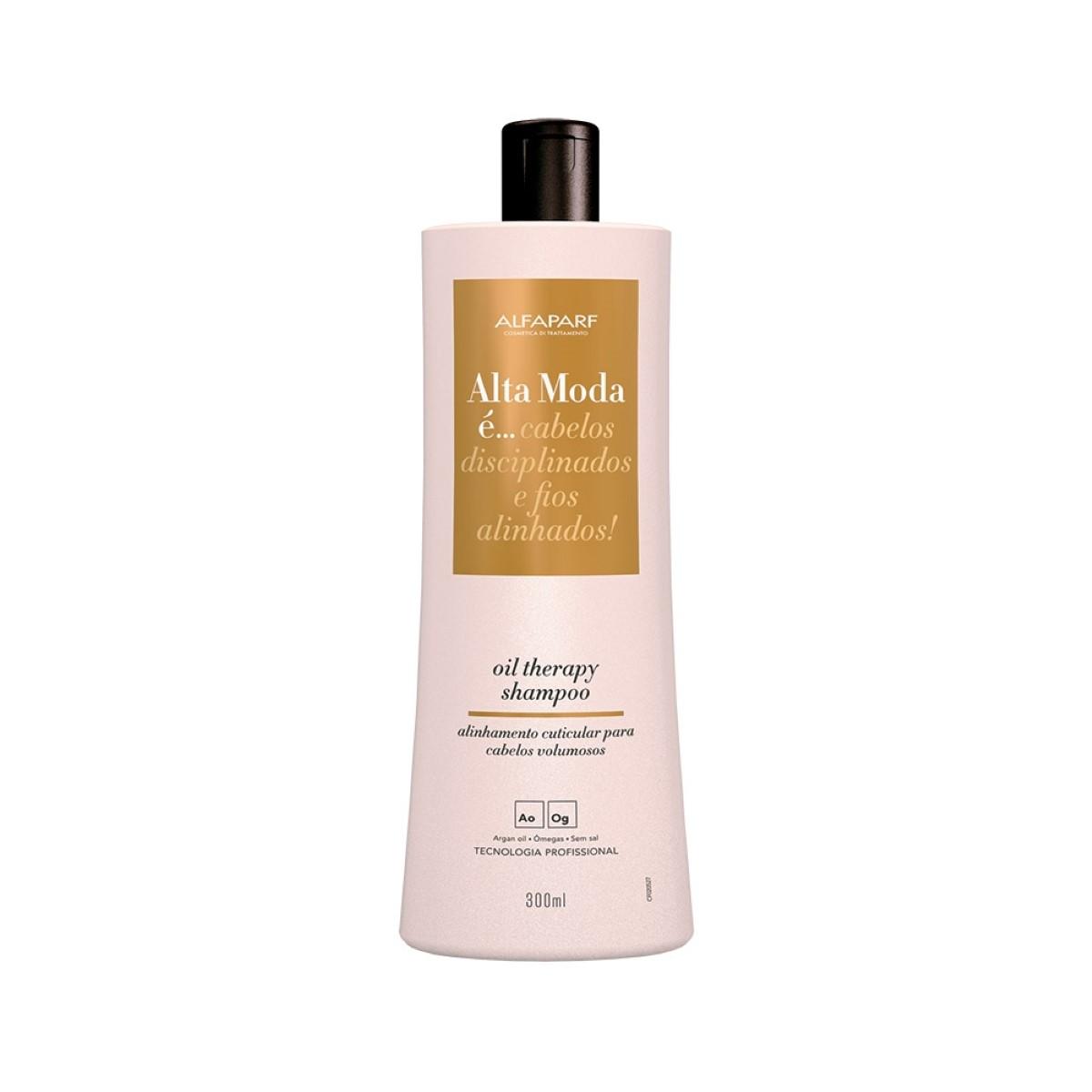 Shampoo Oil Therapy Alta Moda 300ml - Alfaparf