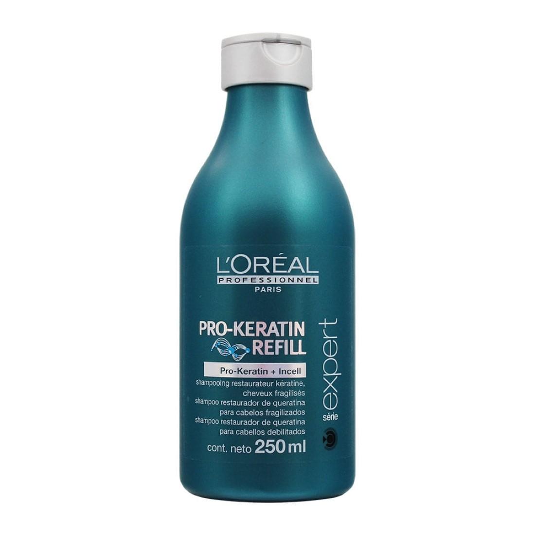 Shampoo Restaurador PRO-Keratin Refill 250ml - L'Oréal Professionnel