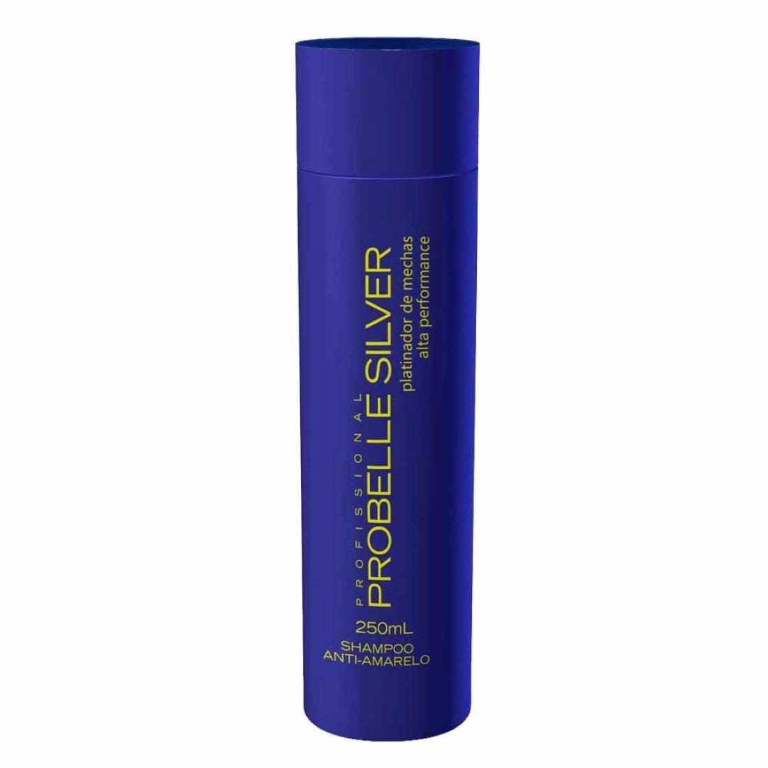 Shampoo Silver Anti-Amarelo 250ml - Probelle Profissional