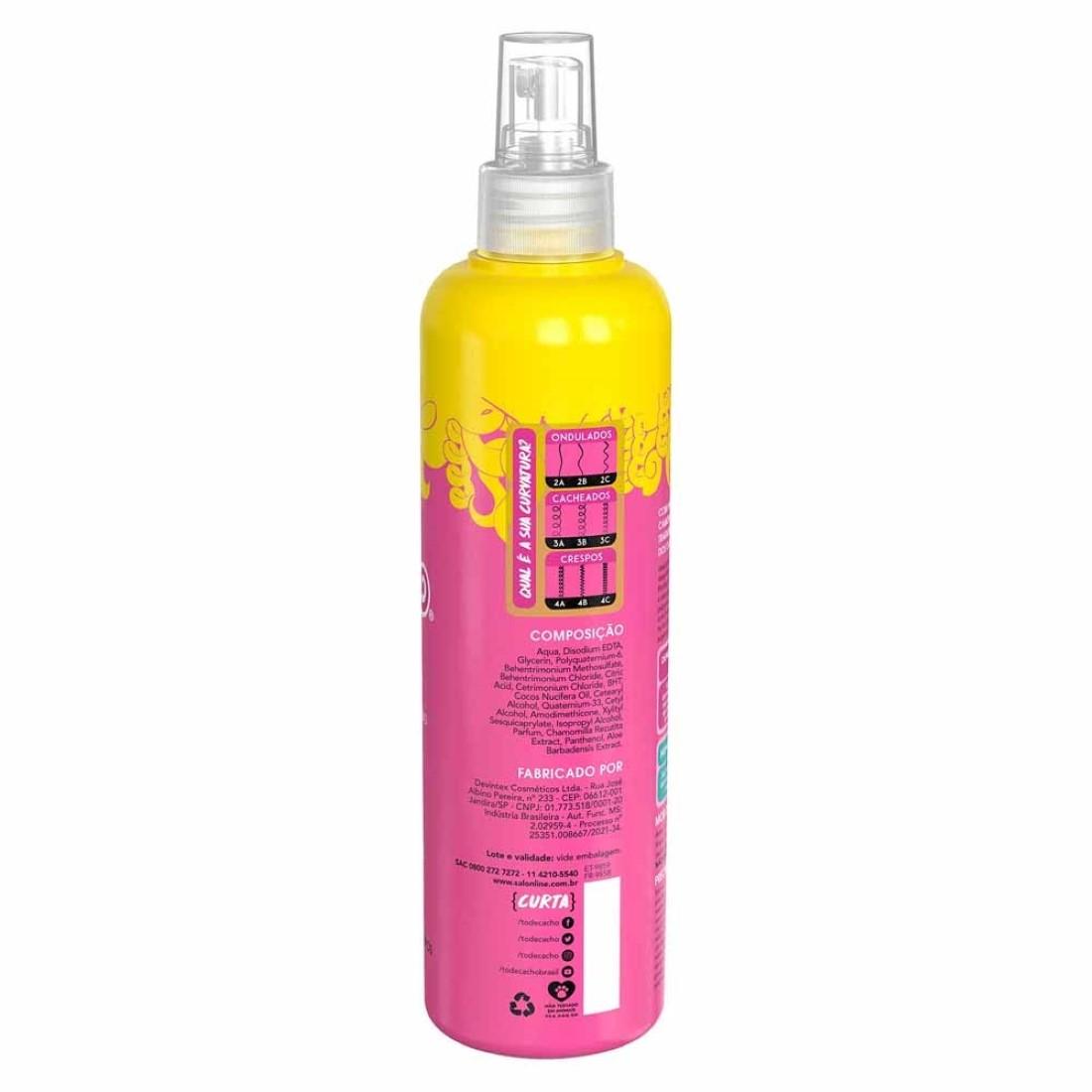 Spray Desembaraçante Kids #TodeCachinhos 300ml - Salon Line