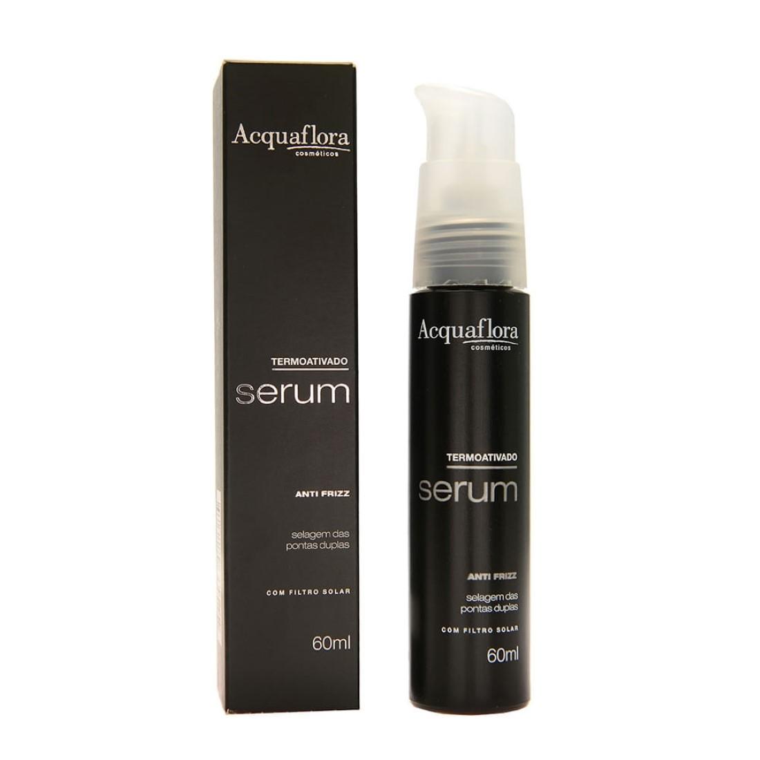 Termoativado Serum Anti Frizz com Filtro Solar 60ml - Acquaflora